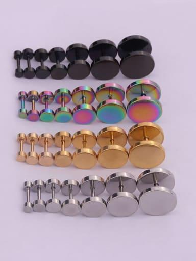 Stainless steel Minimalist Stud Earring