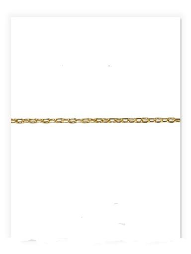 Cross chain (diameter 2.5 mm) S925 Sterling Sliver Geometric Minimalist Bead Chain