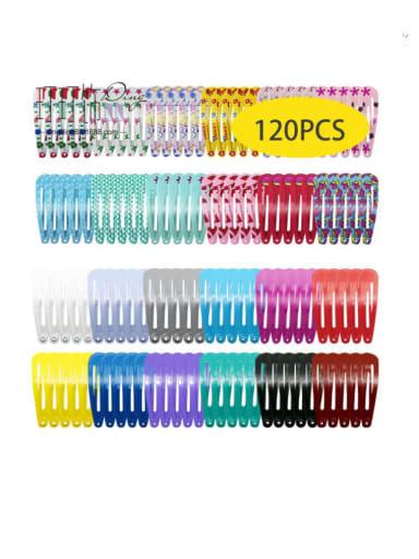 Alloy Multi Color Enamel Cute Water Drop  Hair Barrette