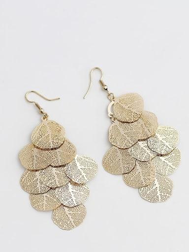 Coffee gold Copper Tree Bohemia Hook Trend Korean Fashion Earring