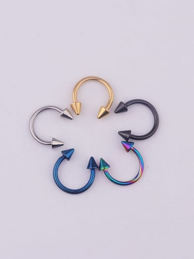 Stainless steel Geometric Minimalist Nose Rings