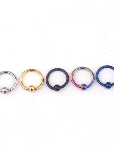 Stainless steel Geometric Minimalist Hoop Earring