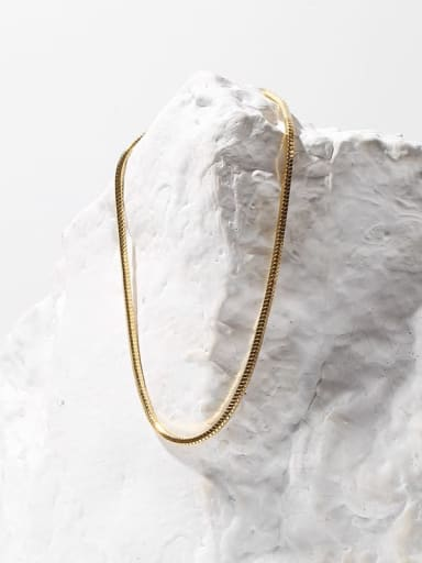 Brass simple Snake Vintage Chain