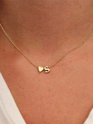 Titanium Heart Minimalist Necklace