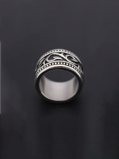 Stainless steel Dragon Vintage Band Ring