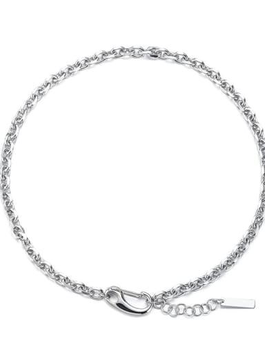 Steel Necklace Titanium Steel Irregular Hip Hop Necklace