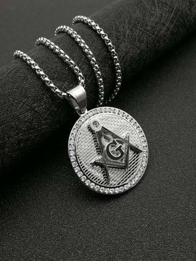 Titanium Steel Religious Vintage Necklace