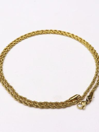 60cm golden twist chain Brass Rhinestone Cross Vintage Regligious pendant Necklace