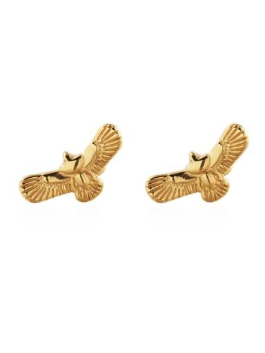 Titanium Steel Eagle Vintage Stud Earring