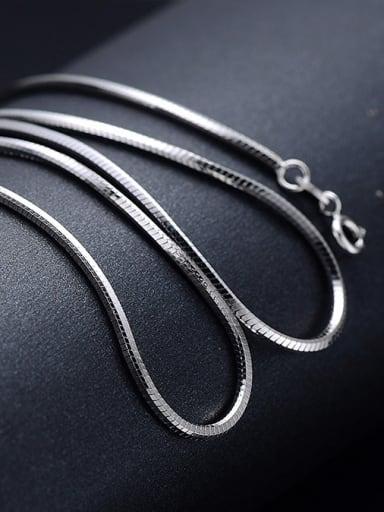 925 Sterling Silver Snake Chain For Men