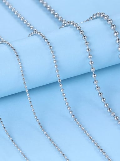 925 Sterling Silver Bead Chain