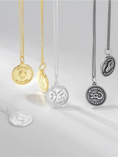 925 Sterling Silver Constellation Minimalist Necklace