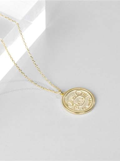 Gold necklace 925 Sterling Silver Mouse Cute Necklace