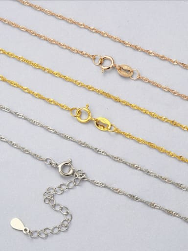 925 Sterling Silver Singapore Chain
