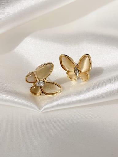 Earring Alloy Cats Eye Butterfly Trend Necklace