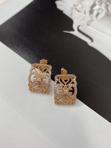 925 Sterling Silver Cluster Earring