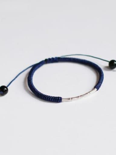 blue 925 Sterling Silver Bracelet