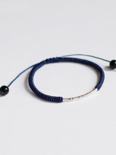 Black 925 Sterling Silver Bracelet