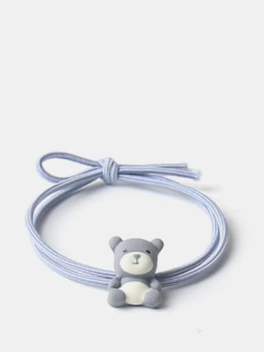 Blue grey Cute Icon Hair Rope