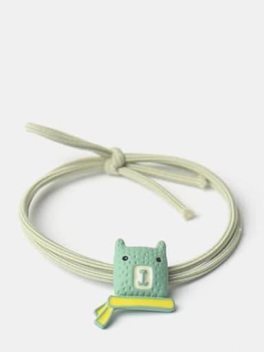 Green Cute Icon Hair Rope