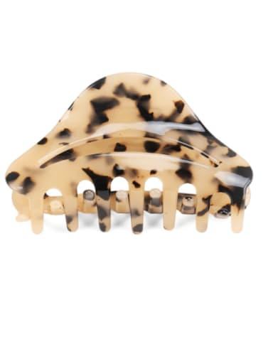 Cellulose Acetate Minimalist Geometric Jaw Hair Claw