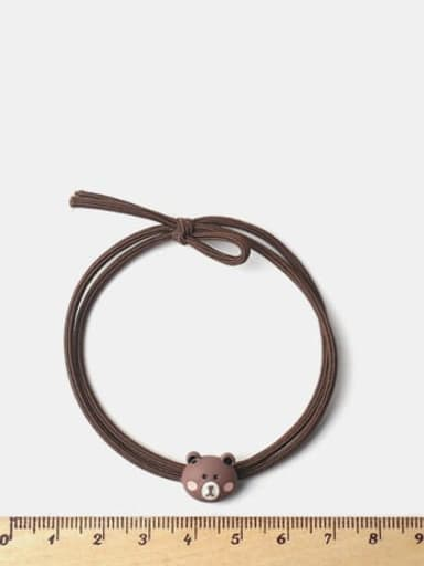 Cute Brown Bear Fox Frog  Cow Hair Rope