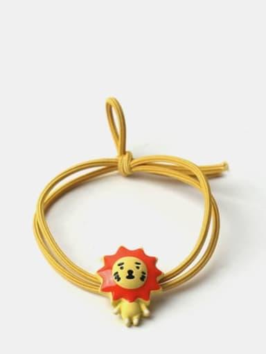Cute Little Lion Laiyang Hair Rope
