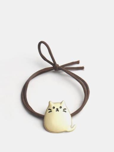 Golden chinchilla Alloy Cute  chinchilla Hair Rope