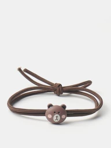 Brown bear Cute Brown Bear Fox Frog  Cow Hair Rope