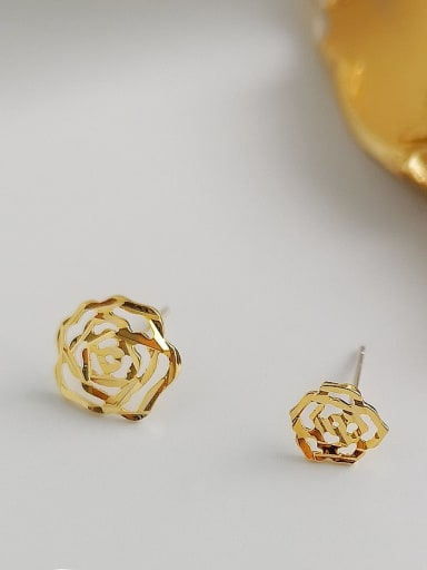 Alloy Gold Geometric Minimalist Single Earring