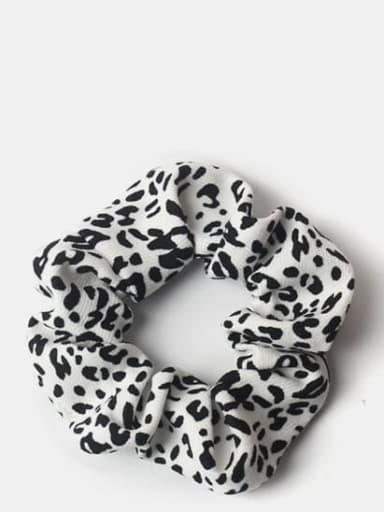 White Leopard Print Elegant retro texture ~ leopard zebra