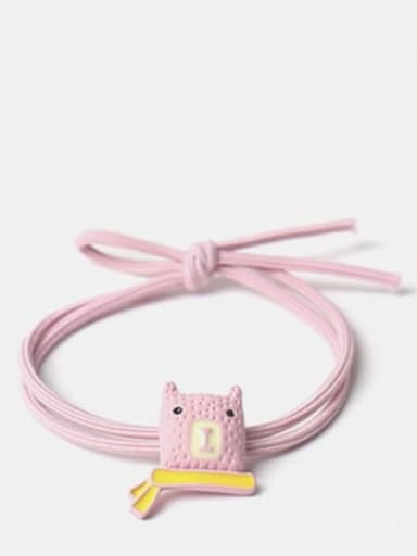 Pink Cute Icon Hair Rope