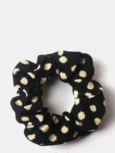 Black wave point Elegant retro texture ~ leopard zebra
