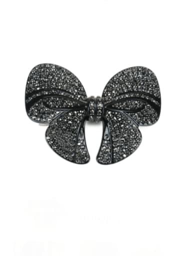 Alloy Rhinestone Vintage Butterfly  Hair Barrette