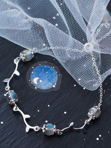 925 Sterling Silver Silver Bohemia Charm Bracelet