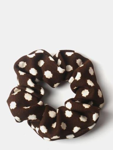 Brown wave point Elegant retro texture ~ leopard zebra