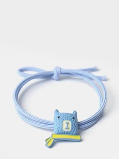 Blue Cute Icon Hair Rope