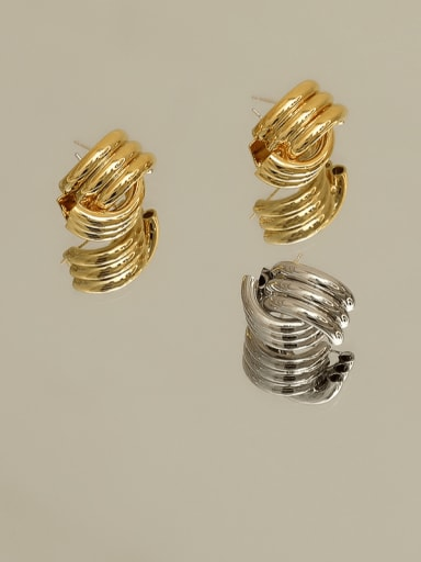 Alloy Geometric Earring