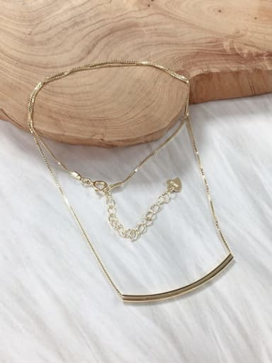 Gold 925 Sterling Silver Dainty Locket Necklace
