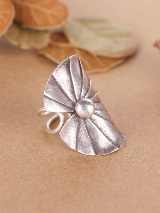 Peng Yuan Ethnic style Thai Silver Ring 1