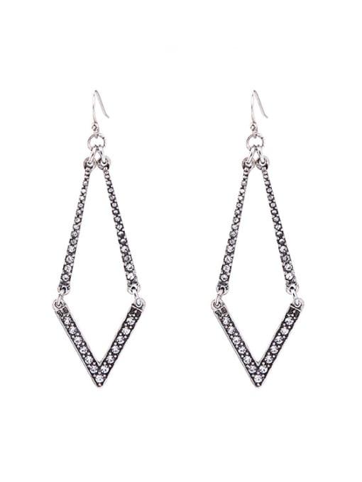 KM Diamond Shaped Women Ear Hook 0