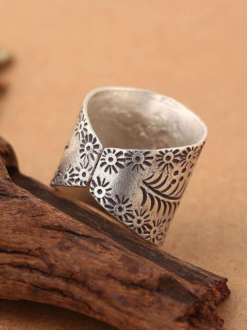 Peng Yuan Thai style Handmade Silver Ring 2