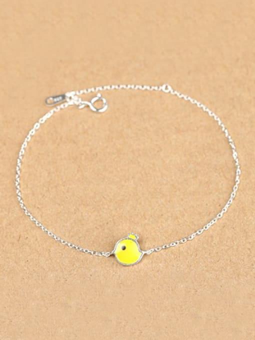 Peng Yuan Simple Yellow Chick Opening Bracelet 0