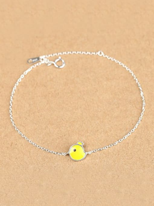 Peng Yuan Simple Yellow Chick Opening Bracelet