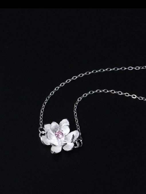 SILVER MI Natural Small Fresh Flowers Bracelet 1