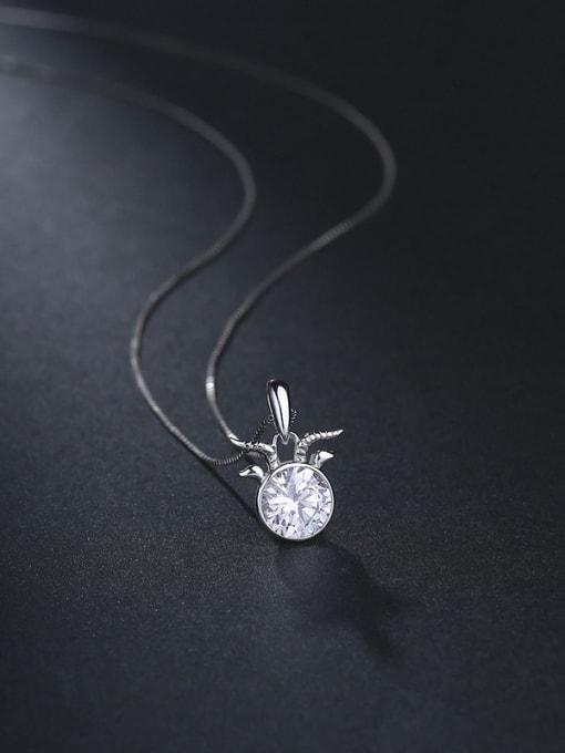 One Silver Fashion 925 Silver Geometric Pendant 0