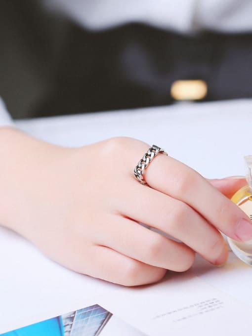 Peng Yuan Personalized Square Ring 1