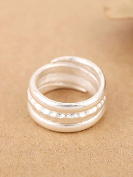 Peng Yuan Simple Sterling Silver Handmade Ring