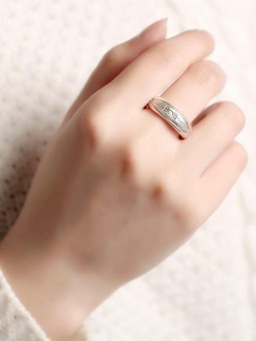 Peng Yuan 2018 Retro Handmade Sterling Silver Ring 1