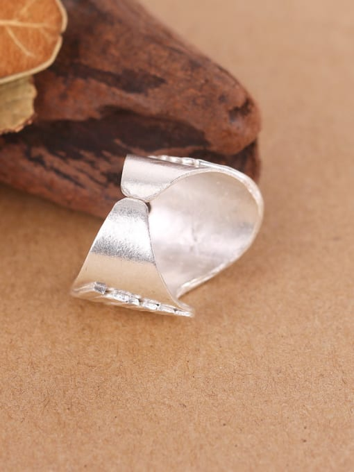 Peng Yuan Personalized Wave Silver Handmade Ring 2